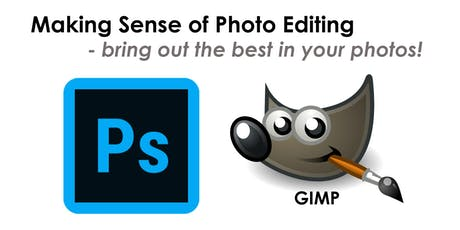 Photo Editing in Photoshop and GIMP - Workshop for beginners July tickets