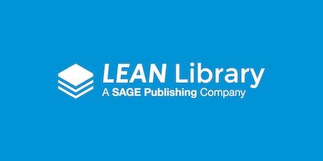 Lean Library training webinar tickets