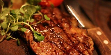 Steak with Red Wine Tasting 28/06/19 tickets