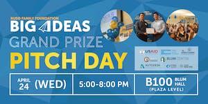 Big Ideas Grand Prize Pitch Day 2019