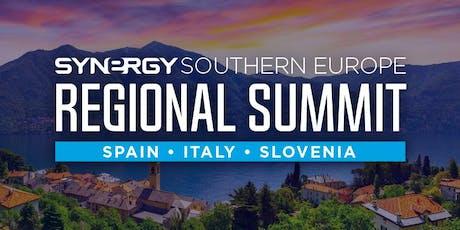 South Europe Regional Summit (Spain, Italy, Slovenia) Tickets