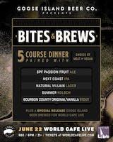 Bites & Brews with Goose Island