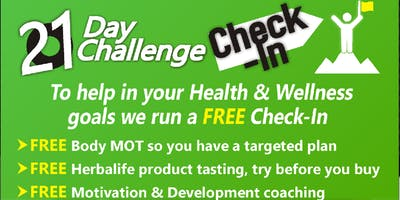 Herbalife 21 Day Challenge Check-In
