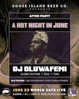 A Hot Night in June with DJ Oluwafemi