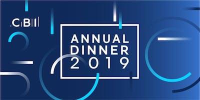 CBI East of England Annual Dinner 2019