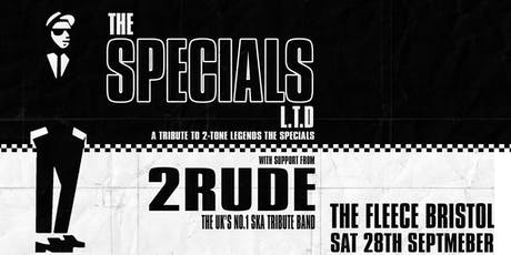 The Specials Ltd + 2 Rude tickets