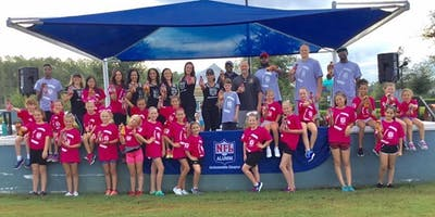NFL Alumni Jacksonville Football & Cheer Clinic
