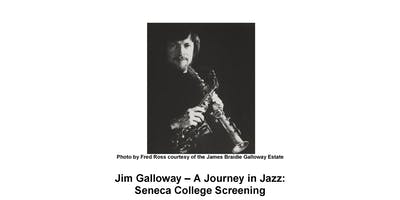Jim Galloway - A Journey in Jazz