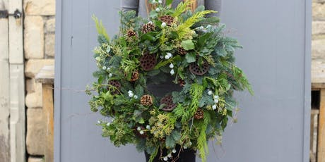 Winter Festive Wreath-Making Workshop  tickets