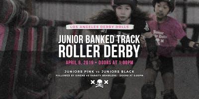 DERBY DOLLS PRESENT: Jr Derby Dolls Banked Track Roller Derby