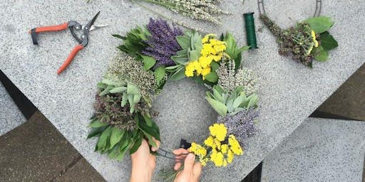 Lavender & Herb Wreath Workshop