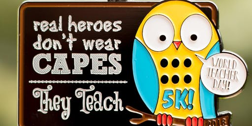 Now Only $10! World Teacher Day 5K -Knoxville