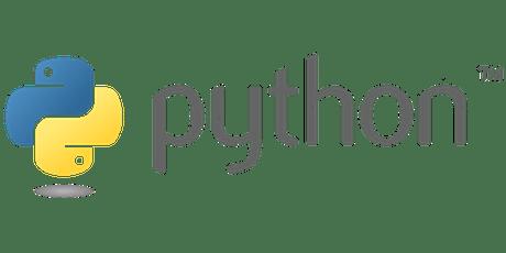 Intermediate Python Computer Programming Summer 2019 (Central) tickets