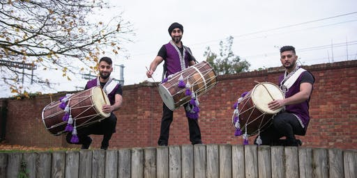 Dhol Class in Slough with Dhol Collective