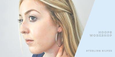 Sterling Hoop Earring Workshop