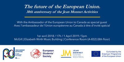 The future of the EU. 30th anniversary of the Jean Monnet Activities