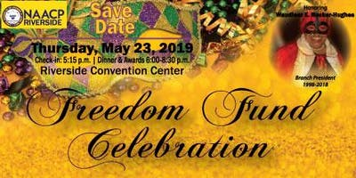 Freedom Fund Celebration 2019 - Honoring Waudieur Rucker-Hughes