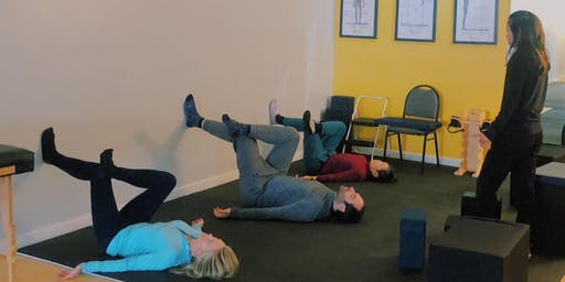 Restorative Pain Relief and Posture Fitness Class