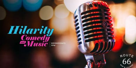 HILARITY! - Live Music & Comedy @ Hollywood Hotel tickets