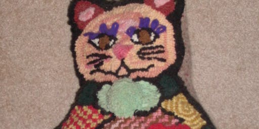 Using Creative Stitches in Rug Hooking