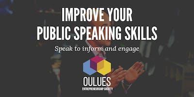 Public Speaking Workshop Series