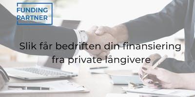 Slik får bedriften din finansiering fra private långivere (Bergen)