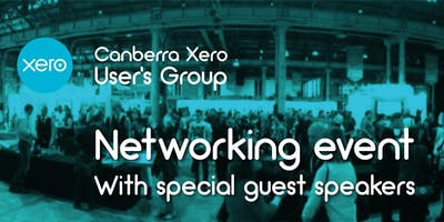 March - Canberra Xero Users Group - Networking event