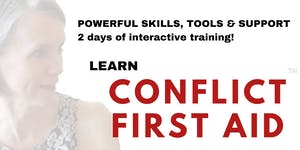 Kingston! Learn CONFLICT FIRST AID™ - Solid, SAFE...