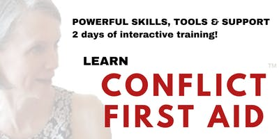 Kingston! Learn CONFLICT FIRST AID™ - Solid, SAFE Support