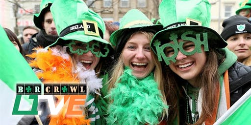 2020 St. Patrick's Day Bar Crawl | Richmond, VA | Bar Crawl Live