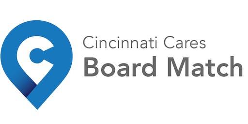 Cincinnati Cares Board Match for Nonprofits