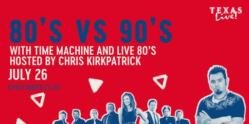 Throwback Parties: 80's vs 90's Night Hosted by Chris Kirkpatrick