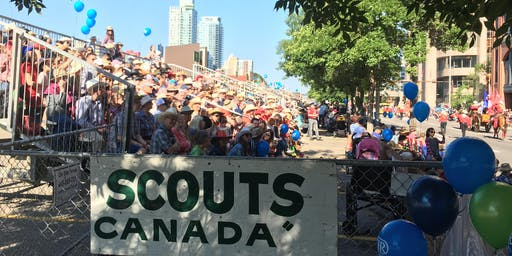 2019 Calgary Stampede Parade Seats - Supporting 31st St Cyprian's Scouts