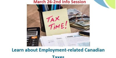 (2nd Session) Learn about Canadian Taxes & Employment