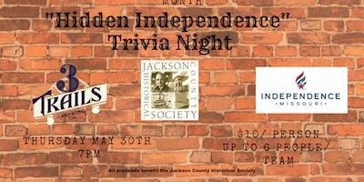 """Hidden Independence"" Trivia Night"