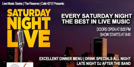 Saturday Night Live @ Cafe 4212 tickets