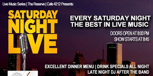 Saturday Night Live @ Cafe 4212
