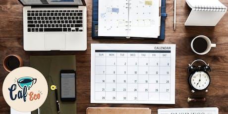 CAF'ECO - La gestion du temps billets