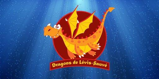 Semaine 4 : Camp de jour des Dragons de Lévis-Sauvé - Semaine du 15 juillet 2019