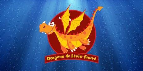 Semaine 8 : Camp de jour des Dragons de Lévis-Sauvé - Semaine du 12 août 2019 billets