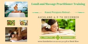 Lomi Lomi Massage Practitioners Levels 1&2