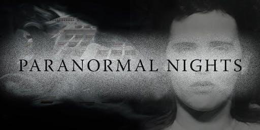 """Cartwheel Art Tours: """"Paranormal Nights"""""""