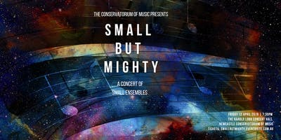 Small but Mighty: An evening of Small Ensembles