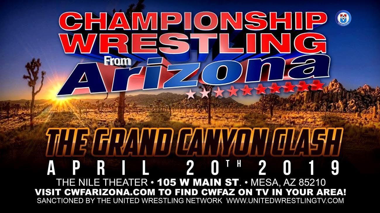 Championship Wrestling from Arizona LIVE TV Event