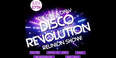 Disco Revolution - The Reunion At Corner Pocket Sports Bar $10