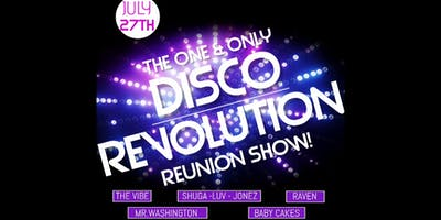 Disco Revolution - The Reunion Show Table For 4 $45