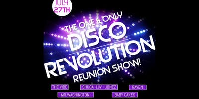 Disco Revolution - The Reunion Show Table For 6 $65