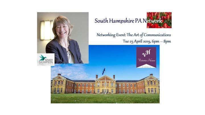 South Hampshire PA Network: The Art of Communications with Heather Baker