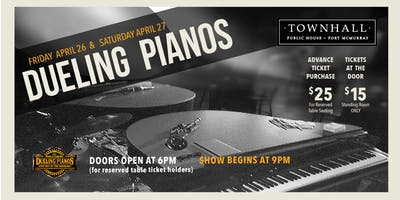Dueling Pianos at Townhall Fort McMurray