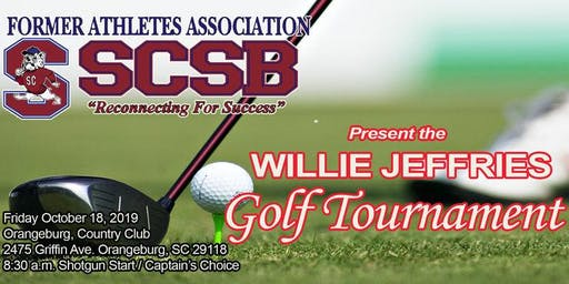 SCSU Former Athletes Present the Willie Jefferies Golf Tournament